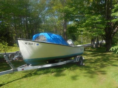 19' 1988 Seaway Boat, Motor & Trailer. 2001 Honda 4 stroke, 75 HP, bought new in 2002, 1986 EZ load trailer.